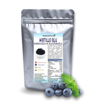250 gr. MIRTILLO BLU ESSICCATO