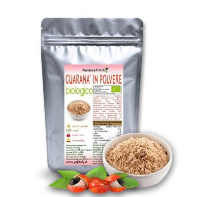 125 gr. GUARANA' IN POLVERE BIOLOGICO