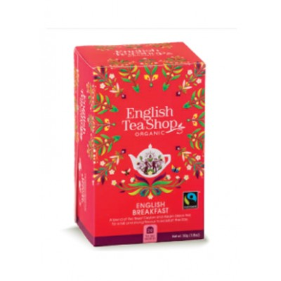 TE' NERO ENGLISH BREAKFAST BIO - 20 bustine da 50 gr.